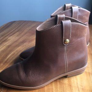 ❤️ Michael Kors ❤️ Cognac soft leather bootie